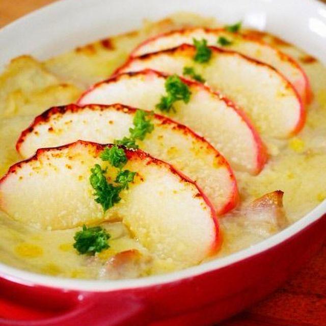 りんごの豆乳グラタン♪簡単おいしいフルーツレシピ!豆乳+リンゴで美肌健康ヘルシーコラボ