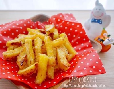 甘い幸せ♡カリカリさつま芋の塩バター-おやつ*簡単*お菓子*スタバ