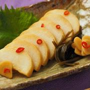 長芋のにんにくしょうゆ漬け & チンゲンサイのタイカレースパ