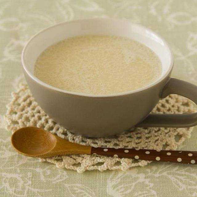 【ココナッツオイル】ホットココナッツ豆乳ラテ