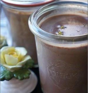 バレンタインにとろける食感♡和風チョコパンナコッタのレシピ。