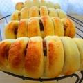 タコス風ちくわパン♪メープルマンゴーおからパン♪