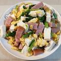 豆腐チャンプルー♪ リンゴ入りポテトサラダ♪