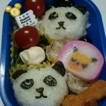 【お弁当】パンダ