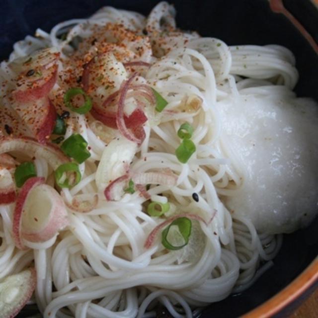 6月10日  とろろ素麺