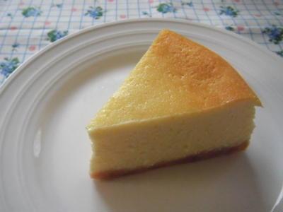ゆりづみ~やさんへ『ココナッツミルクのチーズケーキ』