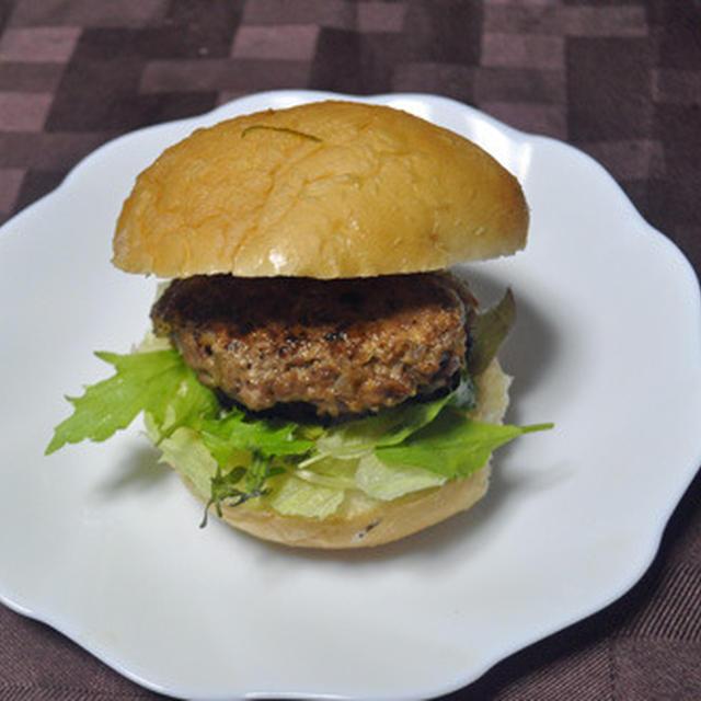 ハンバーガーの夕飯てどうよ!