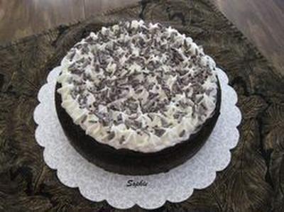 ブラックフォレスト・チーズケーキ
