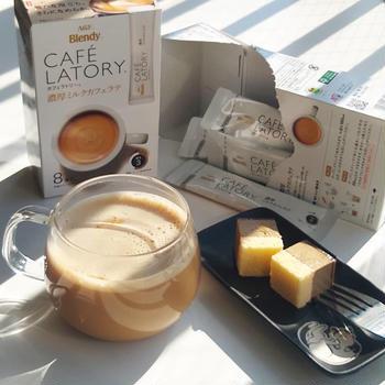豊かな泡立ちが温まる カフェラトリー濃厚ミルクカフェラテ