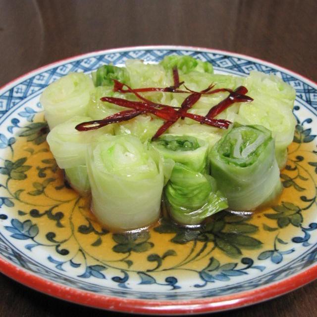 酸辣洋白菜 & 醤爆鶏丁