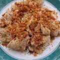 これが本当の揚げない焼くだけカツ、鶏肉の超ヘルシー香草カツ(鶏胸肉)