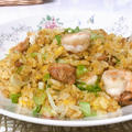 黄金揚州炒飯 (レシピ)