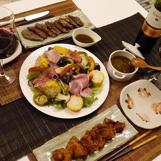 ★ お盆にお肉と野菜の元気