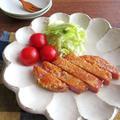 簡単◎フライパンで揚げ焼き☆チーズ風味のハムカツ