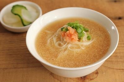 簡単♪明太あんかけ素麺