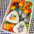 サマーキャンプへ使い捨て容器のお弁当/型抜き卵焼き!?超簡単バージョン!