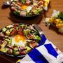 簡単朝ごはん!フライパン焼きスパム&アボカド丼で「ブーケファスト」*スキレット朝食