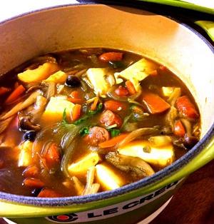 和風豆腐カレー