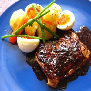 コクある甘い酸味が最高!手軽に「鶏もも肉&バルサミコ酢」で作るメイン