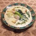 豚バラと小松菜の濃厚シチュー