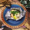 料理教室☆メインメニュー♫鮭と冬野菜のホイル焼き