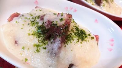 【レシピ】簡単★おつまみにも★ピリ辛とろろ芋第2段【マグロのピリ辛とろろ芋】
