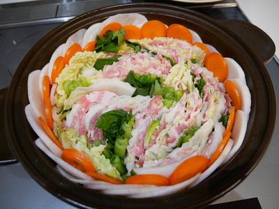 シャンタンミルフィーユ鍋