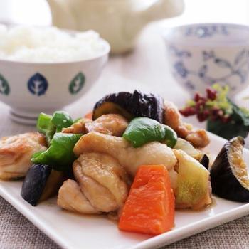 鶏肉と野菜のオイスター味噌炒めレシピ
