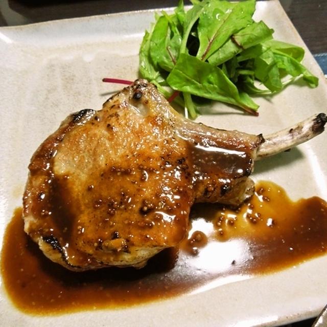 豚肉のソテー ハニーマスタードソース&チャウダーを作ろう