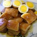 皮付き豚バラ肉のプルンプルン角煮(ラフテー)