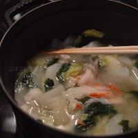南アフリカで知った味【冷凍大根でささっと鍋】南ア産 白身の魚で 鍋にして