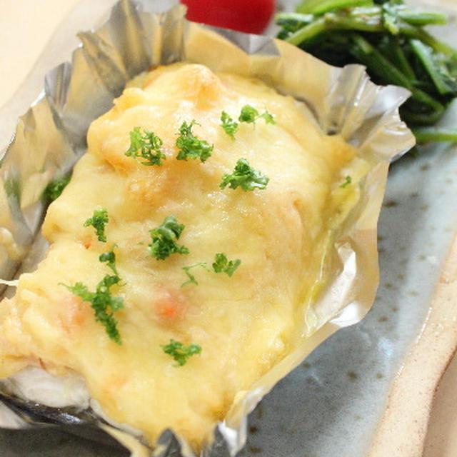 さわらのポテサラチーズ焼き レシピ