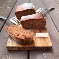 【焼くまで5分のおやつ】tofuココアのしっとりケーキ