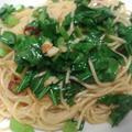 大根菜のペペロンチーノ by yukimiさん
