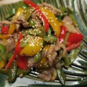カラフル野菜で夏バテぶっ飛ばせ炒め