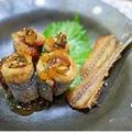 キラキラ☆ジュレのせ秋刀魚ロール揚げ