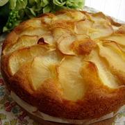 りんごたっぷり焼きケーキりんご