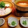 真夏日の晩御飯☆鱧鍋♪☆♪☆♪