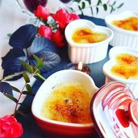焼き芋モンブランのバニラ香るクレームブリュレ