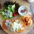 【モニター】野菜ジュースでパンケーキ* by Marie☆さん