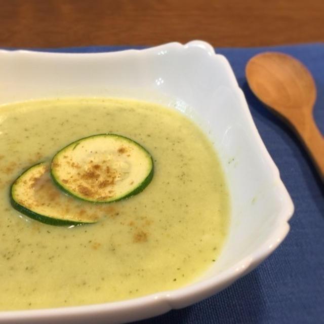 ズッキーニの冷た〜いスープ