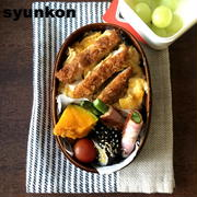 久しぶりに・・・【おべんとう2つ】カツ丼弁当と、ソースカツ×犯人弁当