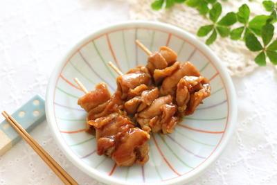 爪楊枝を使う【ミニ焼き鳥】 ~お弁当のおかずに大人気