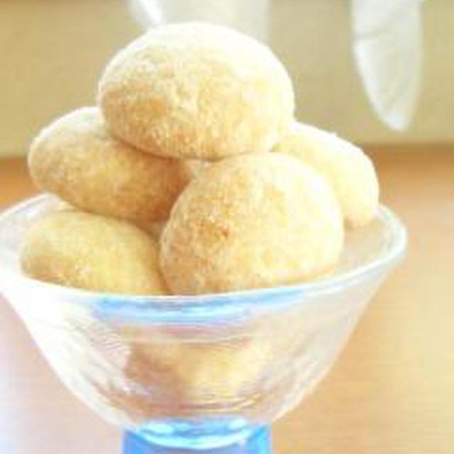 「デザート」レモンのスノーボールクッキー(レシピ付)
