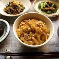 『ヤマキ割烹白だし』で親子丼を作ったり、かぼちゃときのこの煮物を作ったり♪