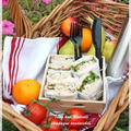 ピクニックランチ♪ ツナと胡桃のサンドイッチ