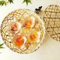 金魚鉢風カップで☆フルーツみつ豆ゼリー