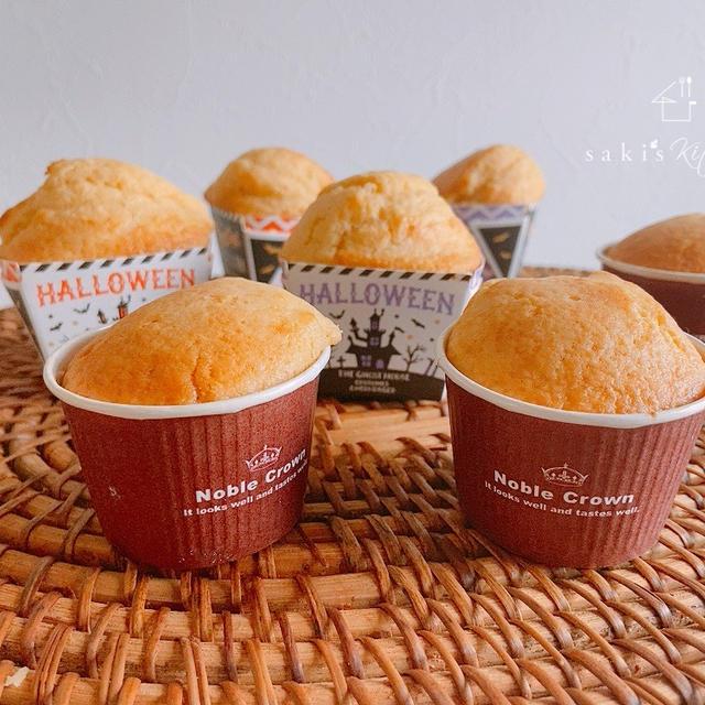 ノンバター*ふわふわ米粉カップケーキ♡色々と。