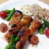 鶏もも肉のロースト~マスタード&オニオンソース~