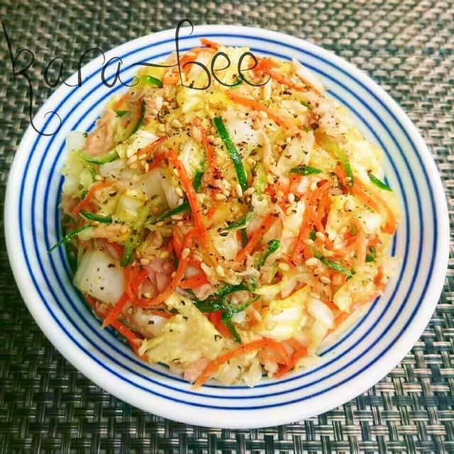 正月太りリセット♡白菜の消費に!簡単やみつきツナ白菜